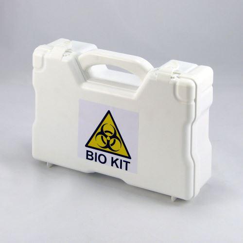 Sada BIO KIT v kufříku pro likvidaci tělních tekutin