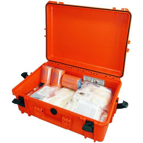 Záchranářský kufr IP67 velký s náplní pro zásahová vozidla III