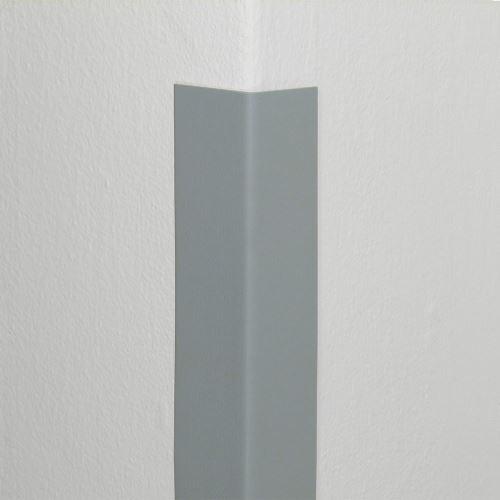 Plastová ochrana rohu DELUX - SVĚTLE ŠEDÁ - 50 x 50 mm x 1,5 m - standard