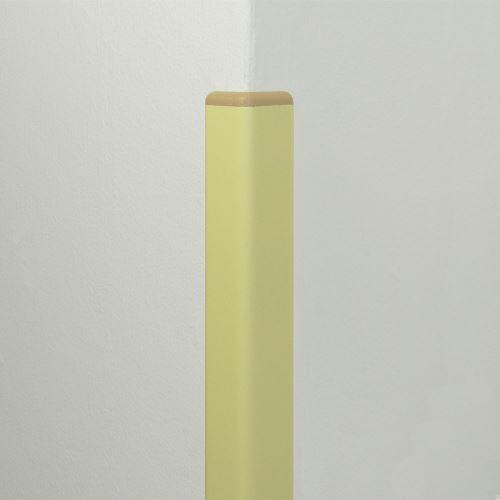 Ochrana rohu DELUX AL 50 - délka 1,5 m - SLONOVÁ KOST + koncovka BÉŽOVÁ