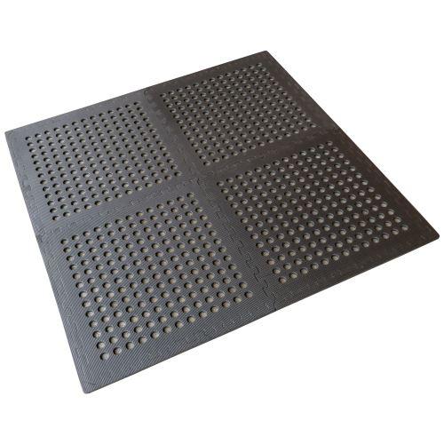 Modulární děrovaná podlahová pěnová deska – sada 4kusů